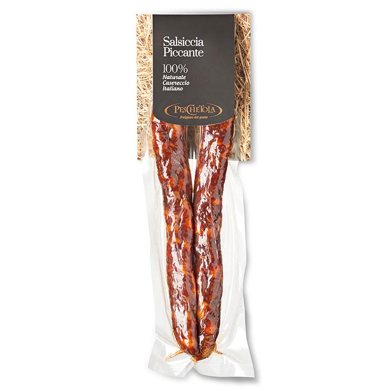 Salsiccia rossa piccante a ferro di cavallo